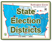 State Election Districts Map